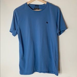 Abercrombie and Fitch Powder Blue Tee
